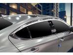 Хром дефлекторы на окна для Hyundai Genesis G70 2021 в Санкт-Петербурге по выгодным ценам. Производства Autoclover Ю. Корея