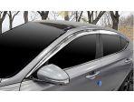Hyundai Genesis G70 2017 - 2022 дефлекторы боковых окон хром 4 штуки AUTOCLOVER e056