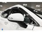 Дефлекторы (ветровики) на окна никелированные Autoclover Хендай Санта фе 2019 2020 6 частей
