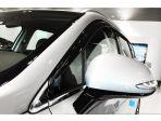 Дефлекторы (ветровики) окон черные Hyundai Santa fe TM 2019-2020 год 6 штук Autoclover