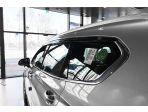 Дефлекторы (ветровики) оконные прозрачно-черные Hyundai Santafe 2019 Autoclover