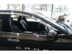 Дефлекторы (ветровики) хром окон для Toyota Camry 2018-н.в.